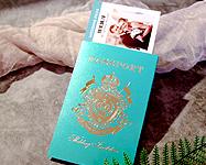 護照機票婚卡--WW532