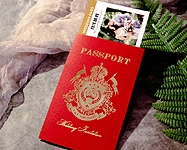 護照機票婚卡--WW533